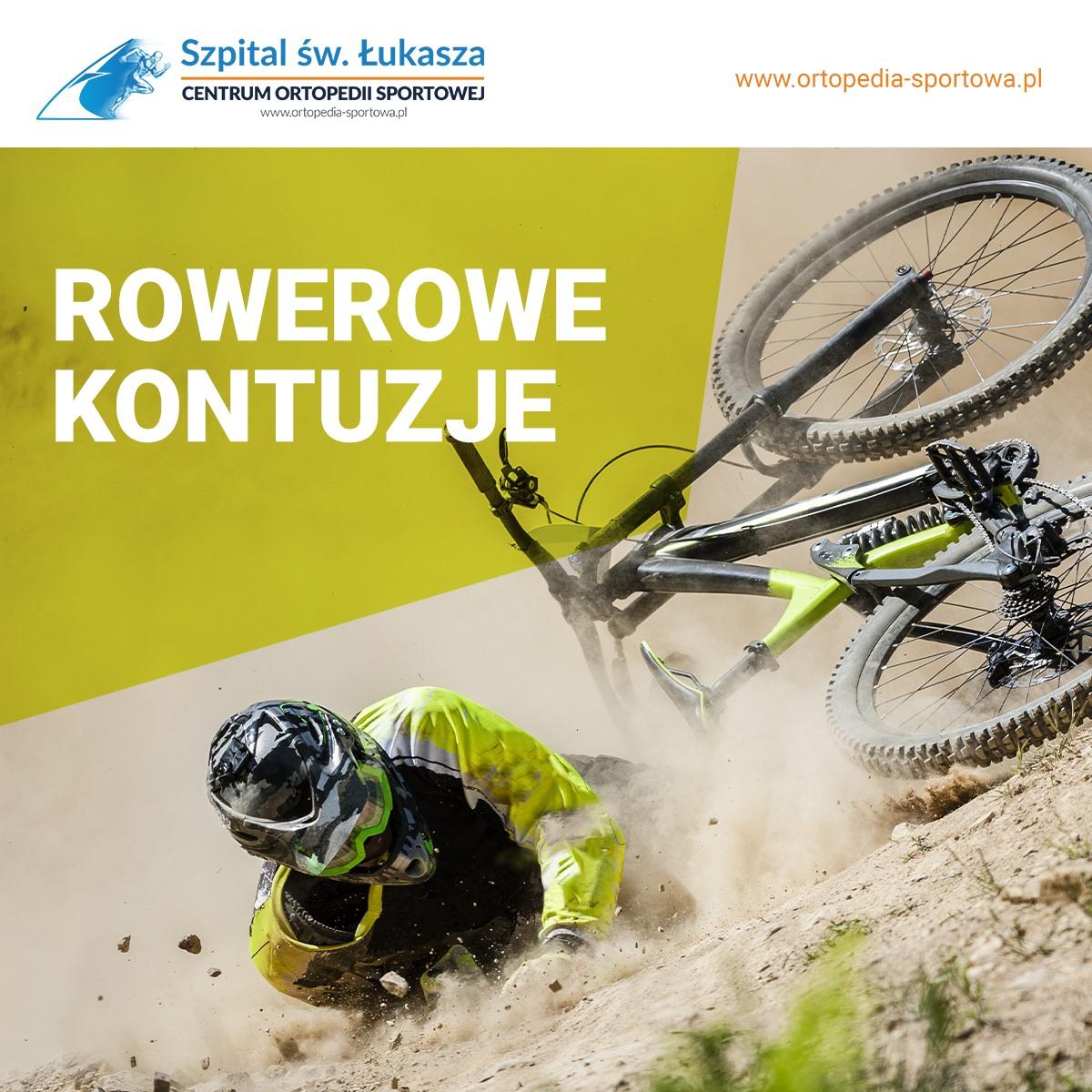 rowerowe kontuzje urazy sportowe ortopeda bielsko